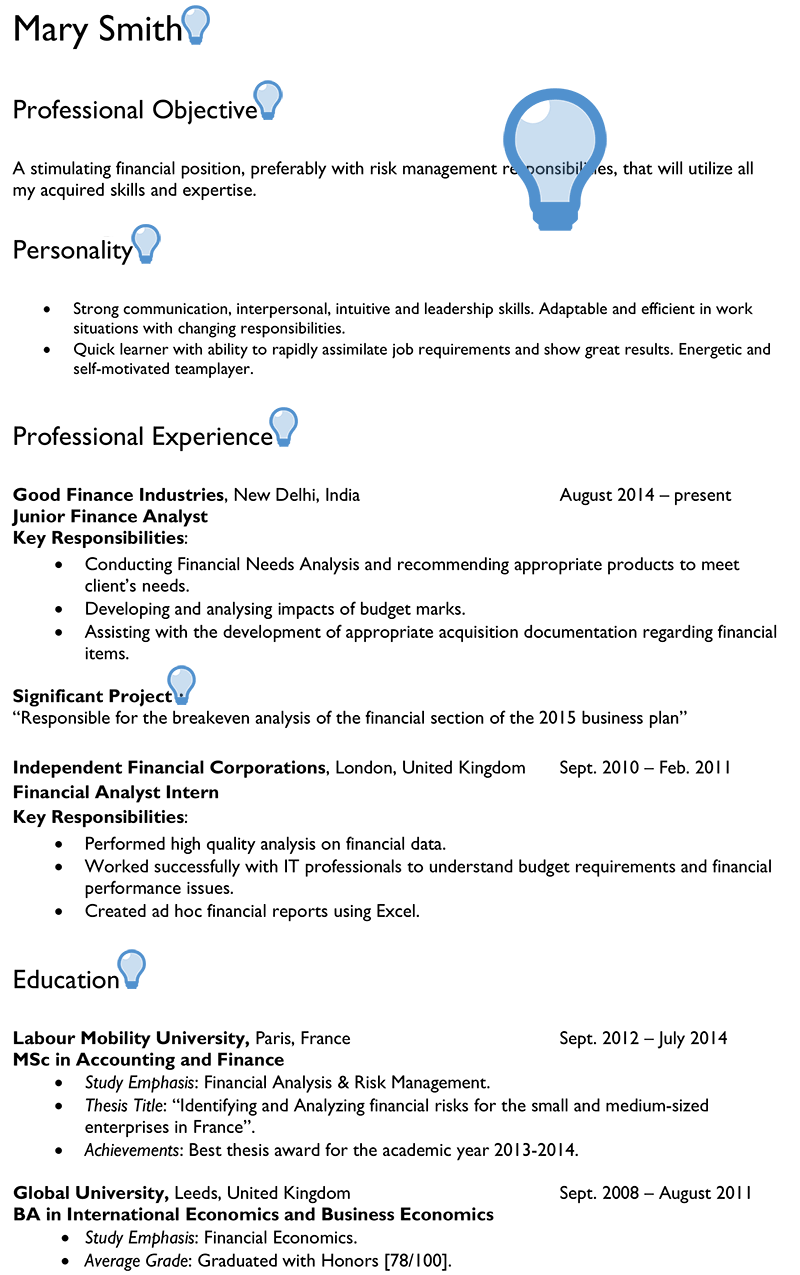 Personal goal essay college