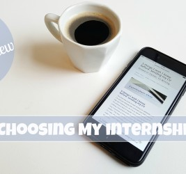 5 things I wish I knew before: Choosing my internship